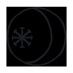 seax wicca symbol