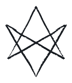unicural hexagram symbol