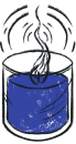 candle-blue