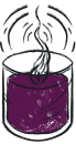 candle-purple